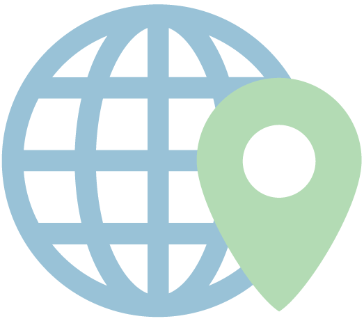 Icon internet without borders